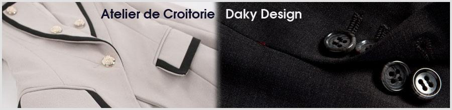 Atelier Croitorie - Daky Design Logo
