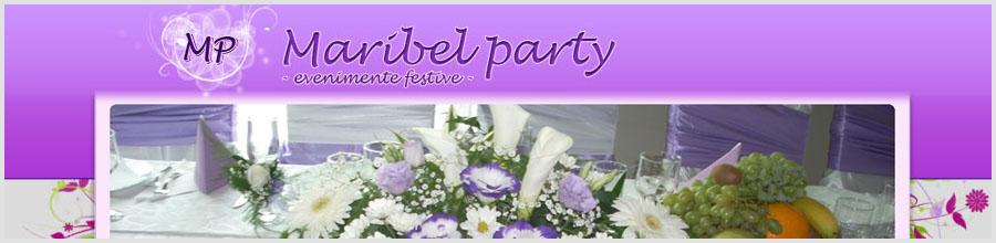 Maribel Party - Organizare nunti - Satu Mare Logo