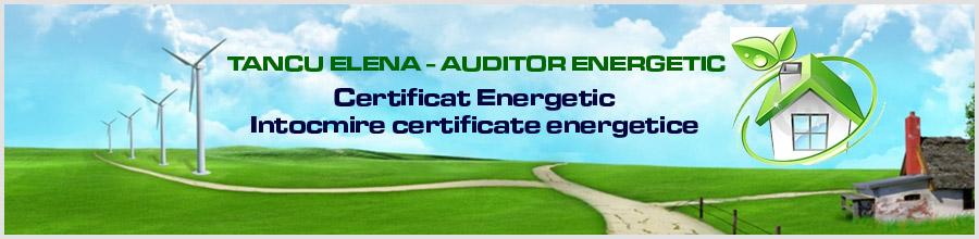 TANCU ELENA - AUDITOR ENERGETIC Logo