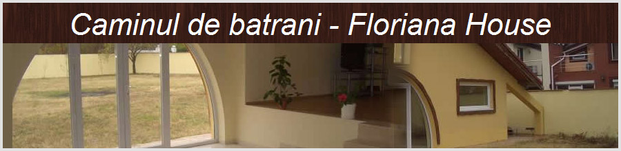 Asociatia Caminul de Batrani Casa Floriana Voluntari Logo