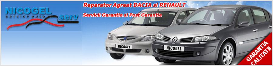 NICOGEL service auto Ploiesti Logo