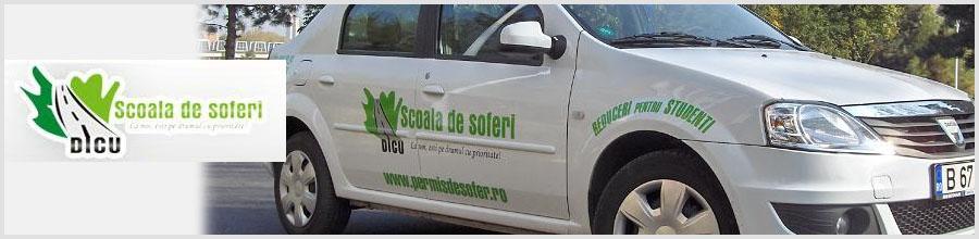 Scoala de soferi Dicu Logo