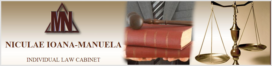 Cabinet Individual de Avocatura Niculae Ioana-Manuela Logo
