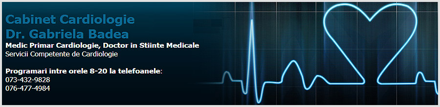 Badea Gabriela - Medic Primar Cardiologie Logo
