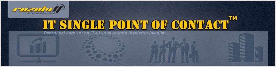 Rezolv IT - Servicii de reparare a computerelor Bucuresti Logo