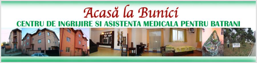 ACASA LA BUNICI - CENTRU DE INGRIJIRE SI ASISTENTA MEDICALA PENTRU BATRANI Logo