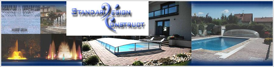 STANDARD DESIGN CONSTRUCT Constructii si amenajari Bucuresti Logo