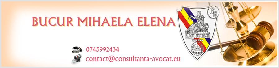 Cabinet Individual de avocat Bucur Mihaela Elena Logo