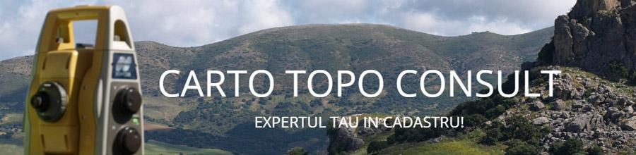 Carto Topo Consult, Cadastru, intabulare, studii topo Dambovita Logo