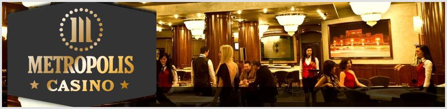 Metropolis Casino, Roulette & Slots - Bucuresti Logo