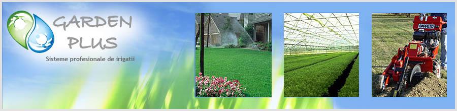 Garden Harmony Plus, Bucuresti - Sisteme de irigatii profesionale Logo