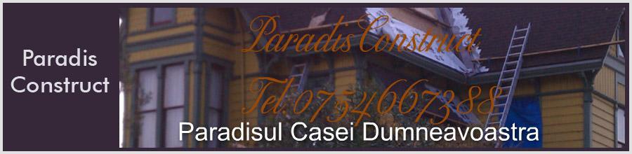 ParadisConstruct, Mogosoaia - Case la rosu, case la cheie Logo