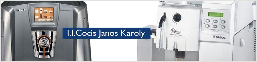I.I.Cocis Janos Karoly Logo