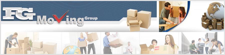 FG MOVING GROUP Logo
