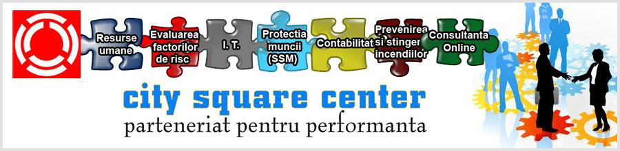 AGENTIE DE MUNCA TEMPORARA CITY SQUARE EMPLOYMENT AGENCY Logo