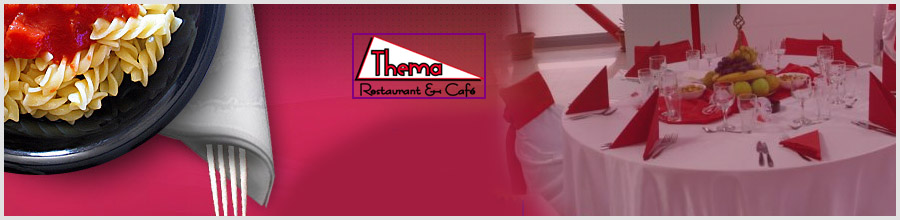 THEMA RESTAURANT & CAFE Logo
