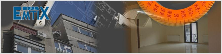 Emtix - Instalatii, constructii si amenajari Bucuresti Logo