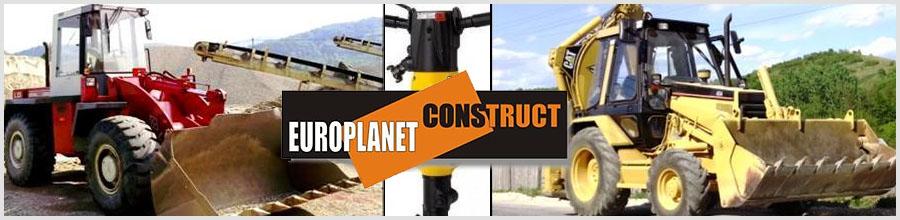 Europlanet Construct - Inchiriere utilaje de constructii, Horezu / Valcea Logo