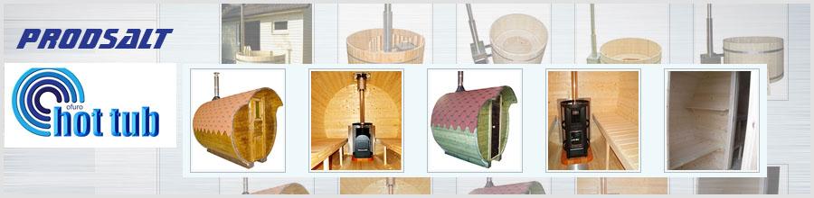 Prodsalt, Targu Mures - Saune tip butoi, jacuzzi, ciubare din lemn Logo