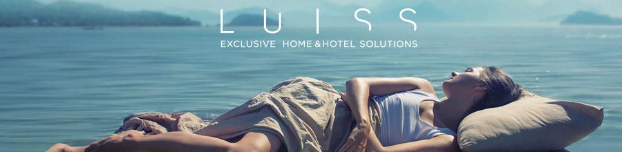 Luiss Exclusive Home & Hotel Solutions, Brasov - Saltele, lenjerii pat, paturi Box Spring Logo