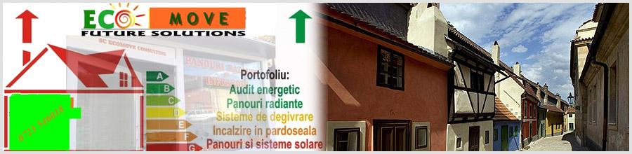 EcoMove Consulting - Magazin online panouri solare, fotovoltaice, eoliene si accesorii solare, Constanta Logo