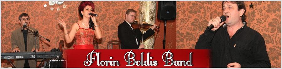 FLORIN BOLDIS BAND Logo