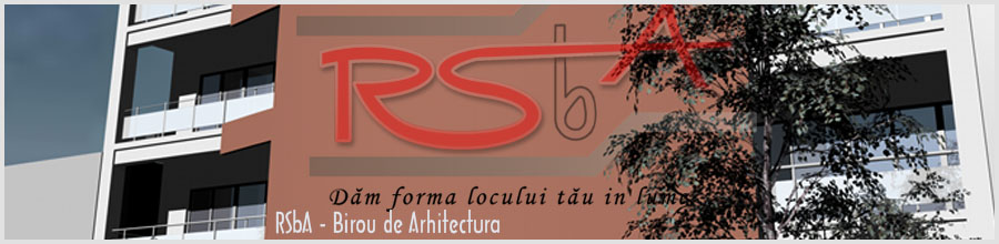 Birou de Arhitectura RSbA Bucuresti Logo