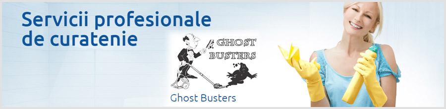 Ghost Busters - Servicii curatenie Bucuresti Logo