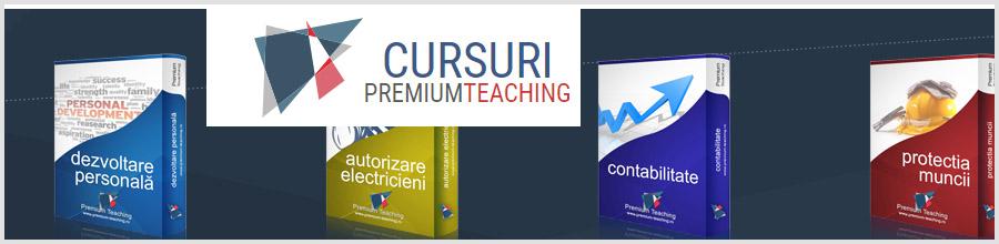 Premium-Teaching - cursuri IT Logo