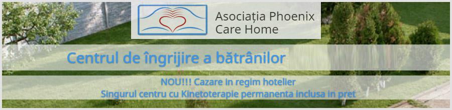 Camin de batrani Phoenix Care Home Logo