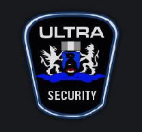 ULTRA SECURITY Logo