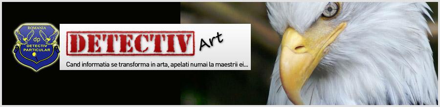 CABINET DETECTIVI PARTICULARI DETECTIV ART Logo