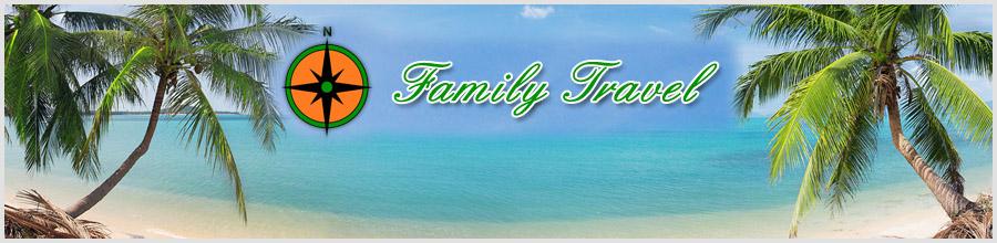 Pop Family Travel Logo