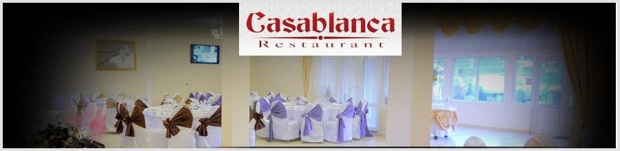 RESTAURANT CASABLANCA Logo
