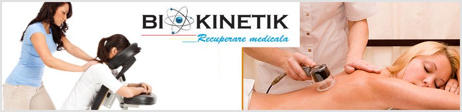 Biokinetik, Cabinet kinetoterapie Bucuresti Logo
