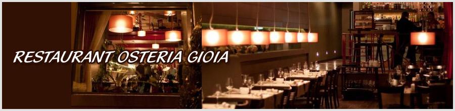 RESTAURANT OSTERIA GIOIA Logo