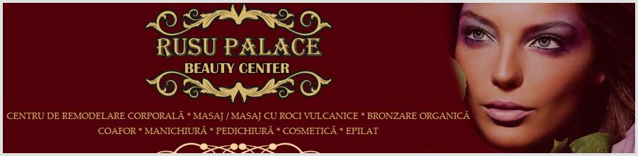 RUSU PALACE BEAUTY CENTER Logo