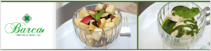 Barca, Restaurant vegetarian - Bucuresti Logo