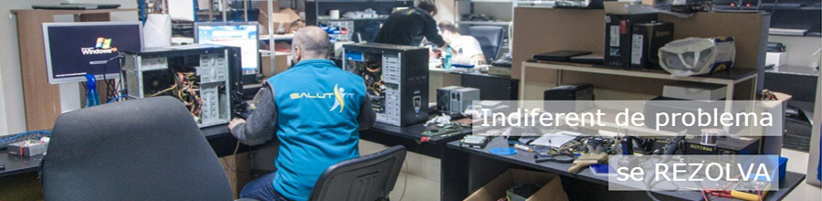 Salut IT Bucuresti - Service calculatoare, laptopuri, imprimante Logo