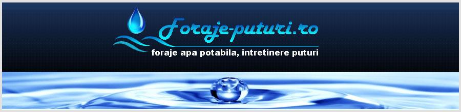 foraje-puturi.ro Logo