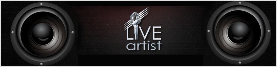 AGENTIA LIVE ARTIST Logo