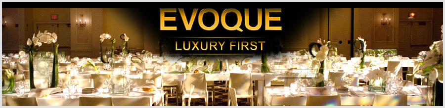 EVOQUE LUXURY FIRST Logo