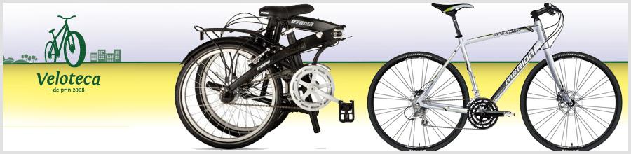Veloteca Bucuresti - Vanzari si reparatii biciclete Logo