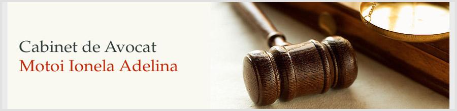 Cabinet de avocat Motoi Ionela Adelina Logo