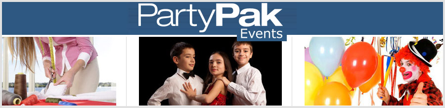 PartyPak Events Logo