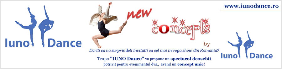 Balet Iuno Dance - trupa de dans modern/jazz/contemporan Bucuresti Logo