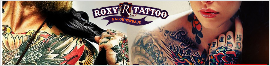 Salon Tatuaje Roxy Tattoo Logo