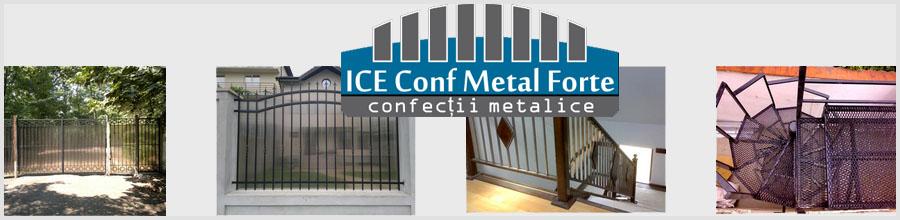 ICEConf Metal Forte, Bucuresti - Producator de confectii metalice Logo