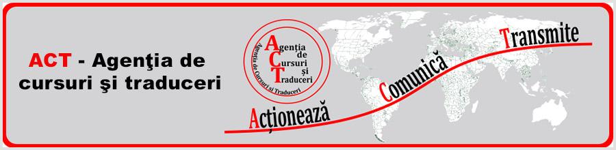 ACT - Agentia de cursuri si traduceri Logo