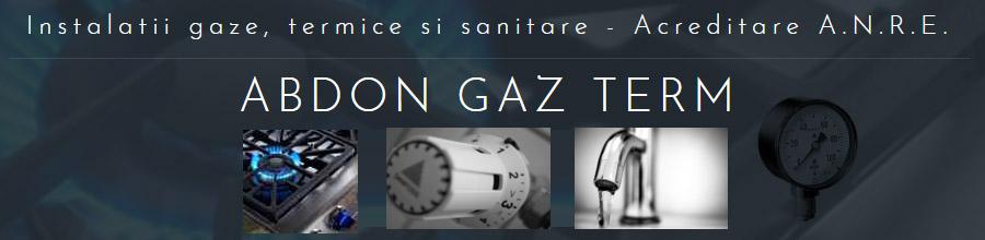 ABDON GAZ TERM instalatii gaze Prahova Logo